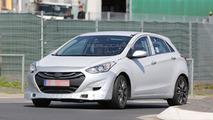 Hyundai i30 N prototype spy photo