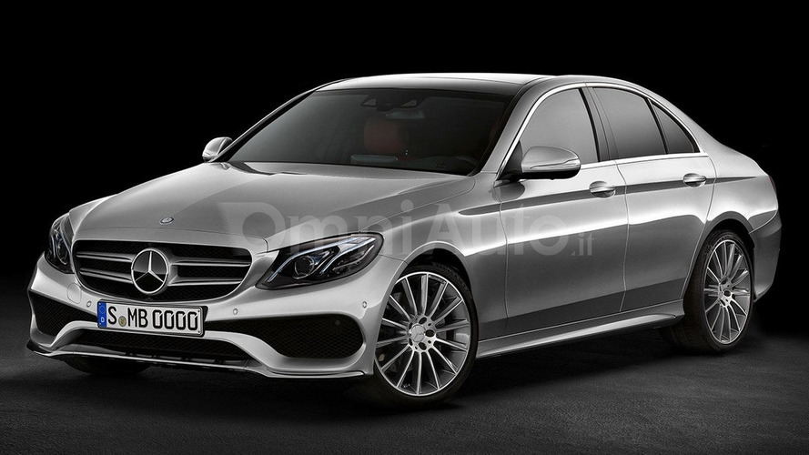 2016 mercedes benz e class sedan render is probably spot on. Black Bedroom Furniture Sets. Home Design Ideas