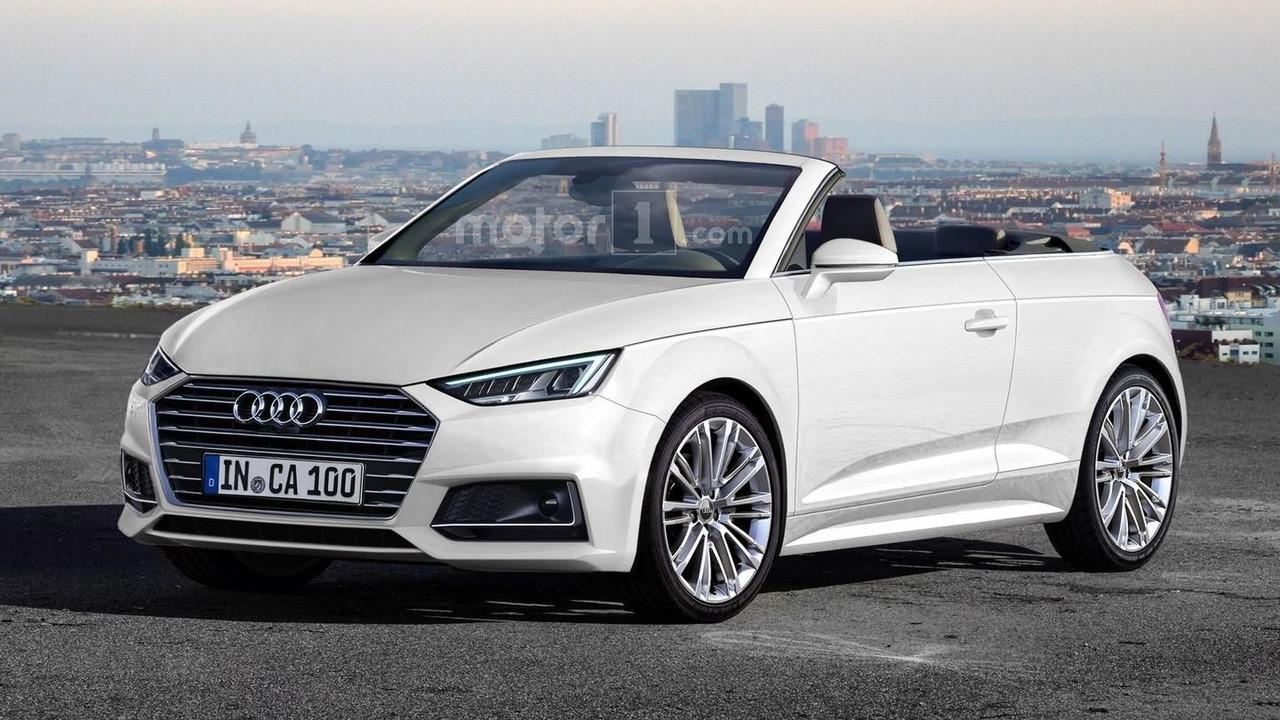 Audi A1 Cabriolet render
