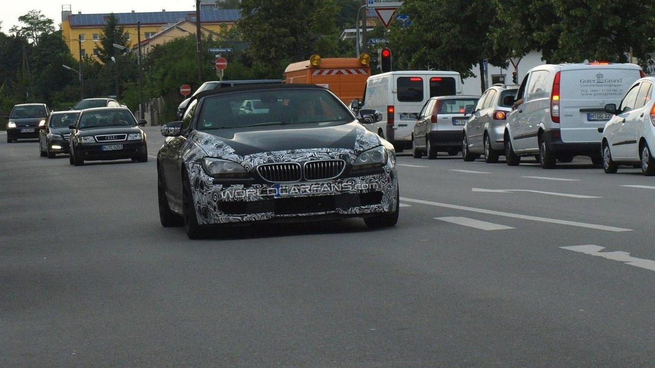 BMW M6 Cabriolet spy photos 30.06.2011