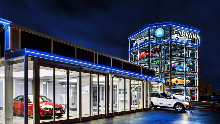 Insolite - Le distributeur automatique de voitures d'occasion