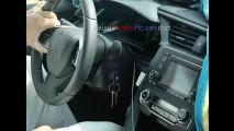 Flagra: novo Honda Civic 2016 é clicado em posto de gasolina