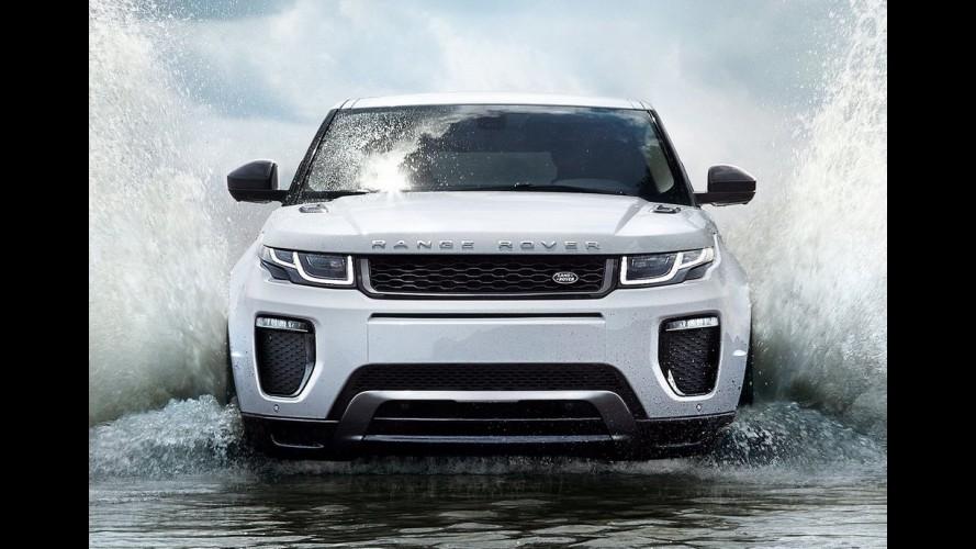 Range Rover prepara modelo inédito para ficar entre o Evoque e o Sport