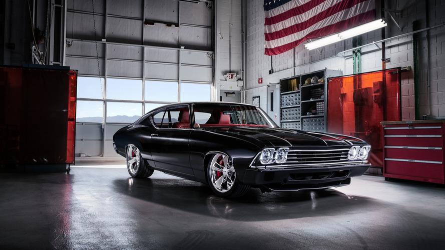 Chevy Chevelle Slammer konsepti zamanda yolculuk sunuyor