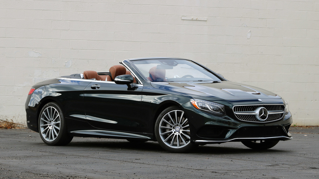 2017 Mercedes Benz S550 Cabriolet Review All The Luxury You Need