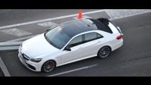 Flagra: Mercedes-Benz Classe E 2014 é visto rodando sem camuflagem em Madri