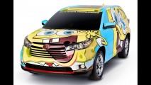 Toyota faz parceria e cria a Highlander Bob Esponja