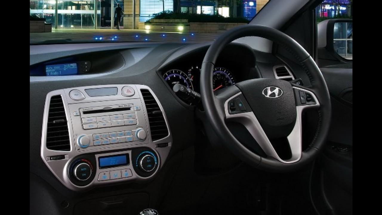 Hyundai i20 recebe melhorias na parte interna e na gama de motores