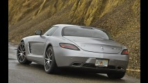 Mercedes SLS AMG terá série especial de despedida no Salão de Los Angeles