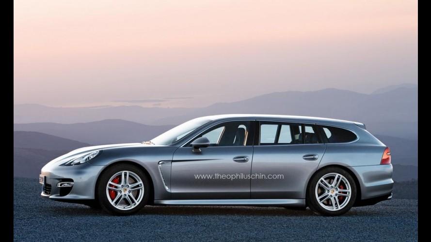 Porsche Panamera Wagon Concept é confirmado para o Salão de Paris