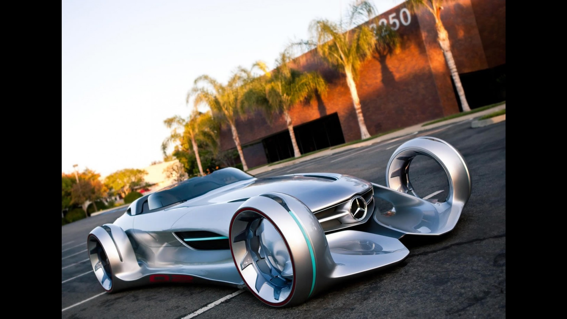 Silver Arrow Race Car