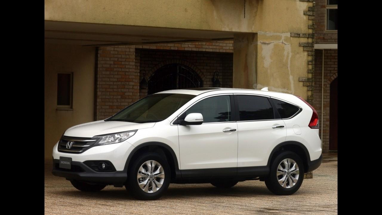 Novo Honda CR-V vai custar a partir de R$ 87.000