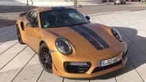 2017 Porsche 911 Turbo S Exclusive Series Top Speed