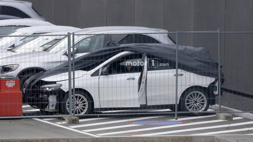 2019 Mercedes B-Class Caught On Camera Without Bumpers