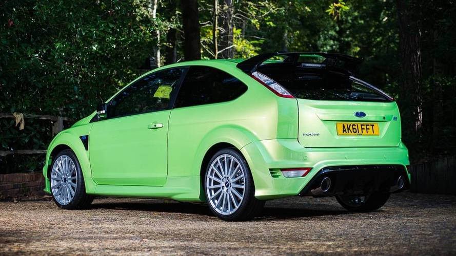 Un Ford Focus RS de 2011, con solo 29 kilómetros, puede ser tuyo
