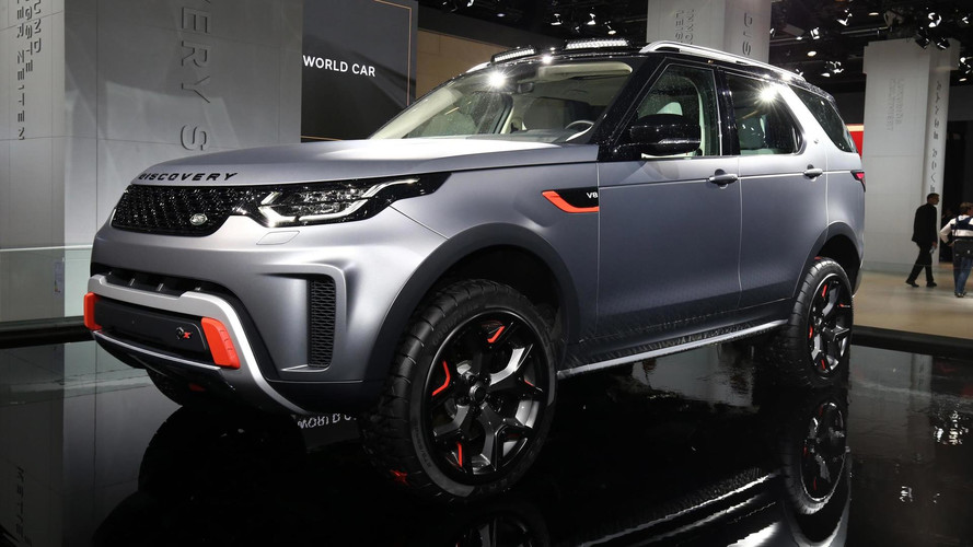 Land Rover Discovery SVX - 525 chevaux pour barouder
