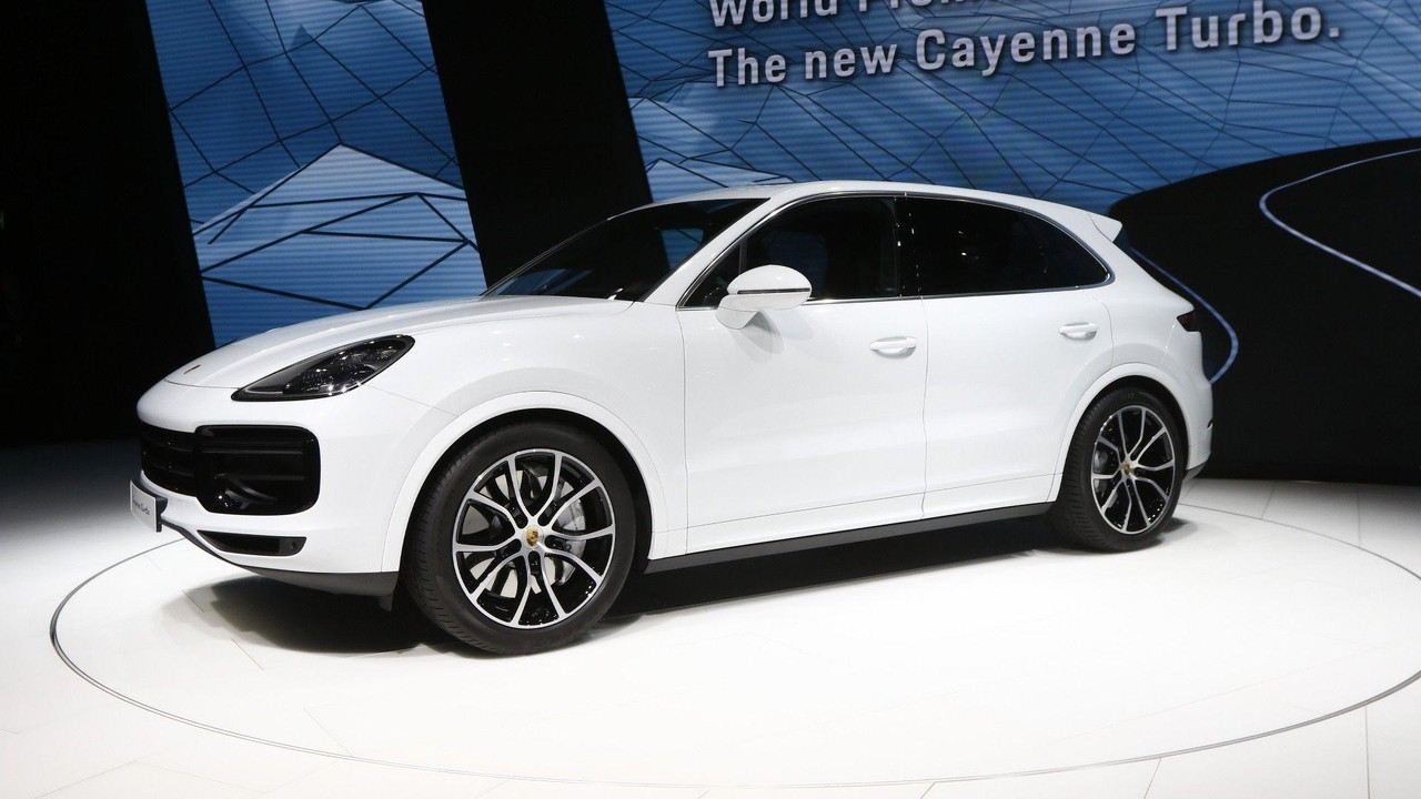 2018 porsche cayenne turbo. contemporary cayenne 2018 porsche cayenne turbo live in frankfurt to porsche cayenne turbo