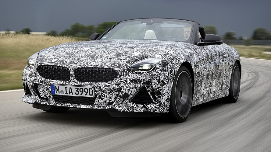 BMW Officially Teases New Z4 In Range-Topping M40i Specification