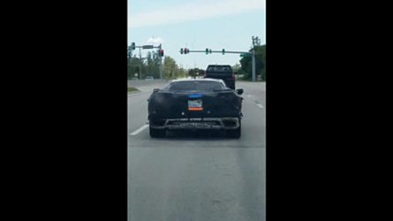 Watch Chevy Corvette C8 Being Stalked In 3 Spy Videos