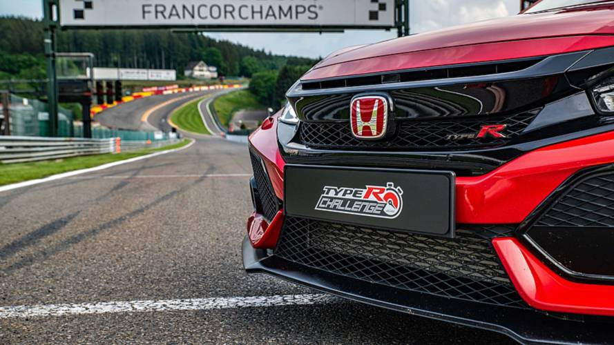 Honda Civic Type R 2018: récord en Spa-Francorchamps