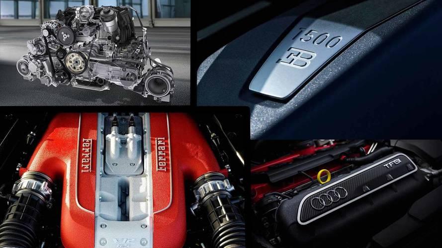 Silindir sayısına göre en güçlü motora sahip otomobiller