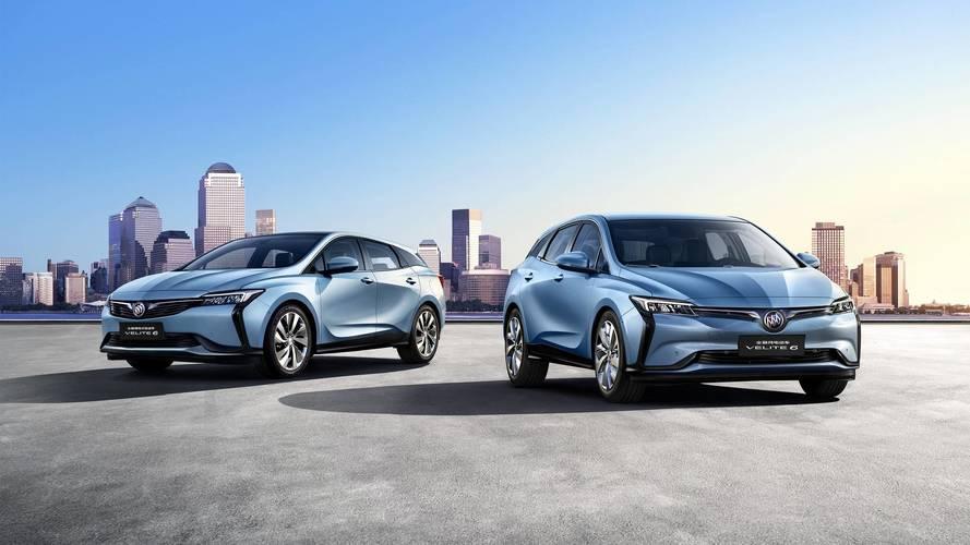 Buick Velite 6, l'ibrida plug-in per la Cina