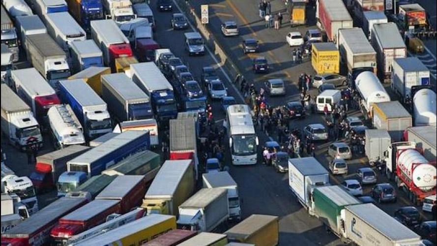 Sciopero autotrasporti, tutti i blocchi stradali e i presidi