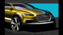 Audi Q4, i primi disegni