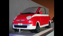 La Fiat 500 al Motor Village di Los Angeles