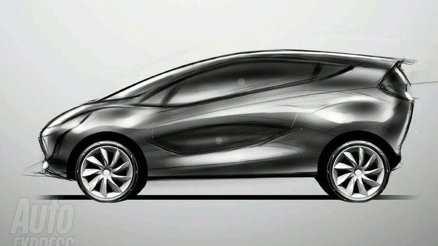 First Sketches of New Mazda1 Concept Emerge