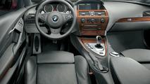 BMW M6 interior