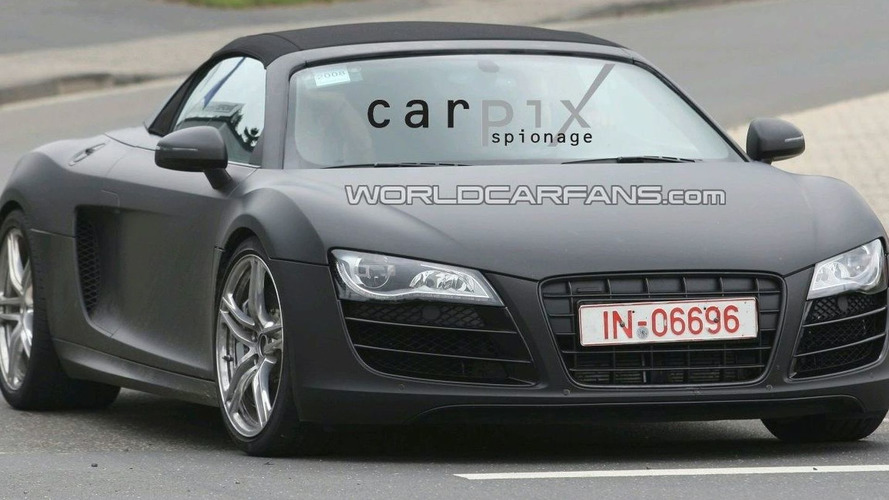 Audi deny R8 Electric Vehicle Concept for Frankfurt, But Confirm R8 Cabrio Debut