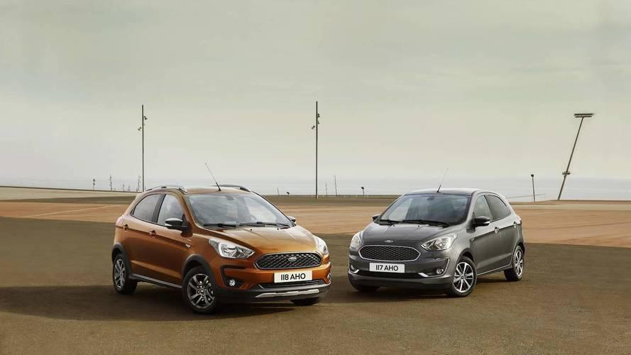 El Ford KA+ 2018 se pone al día con un llamativo restyling