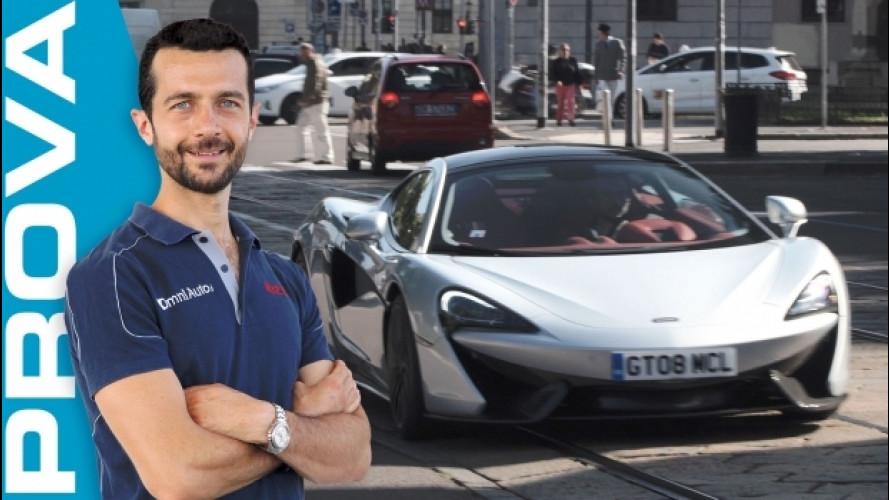 """McLaren 570 GT, cosa significa """"per tutti i giorni""""? [VIDEO]"""