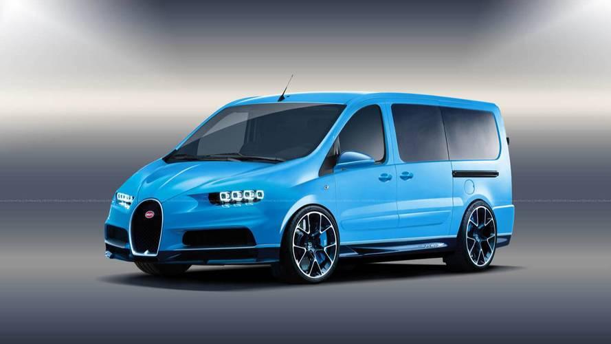 Qui veut d'un utilitaire Bugatti, Porsche, BMW ou Audi ?