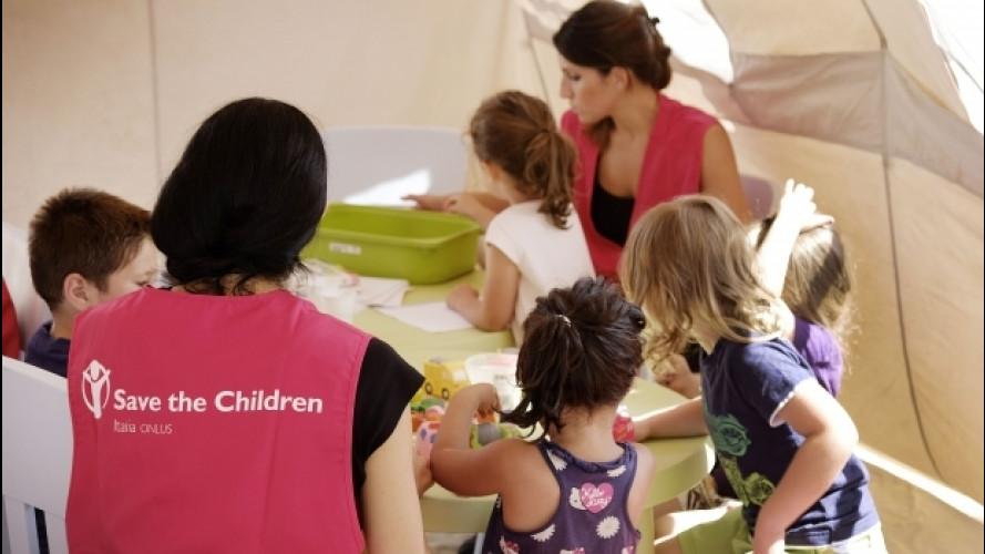 Terremoto Centro Italia, BMW dona 500.000 euro a Save the Children