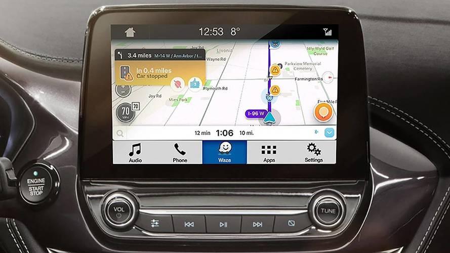 Waze maintenant disponible sur les écrans des véhicules Ford