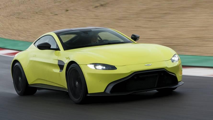 Aston Martin Vantage'da manuel vites seçeneği olmayabilir