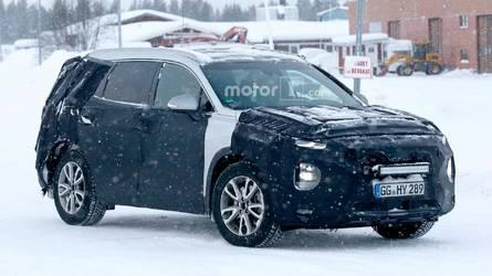2018 Hyundai Santa Fe karda görüntülendi