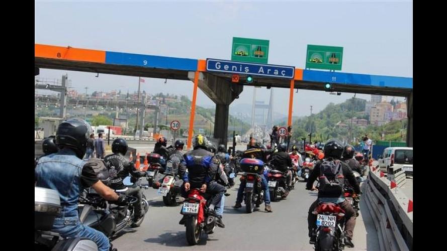 Motosiklet Sürücülerine Otoyol ve Köprülerde İndirim Müjdesi