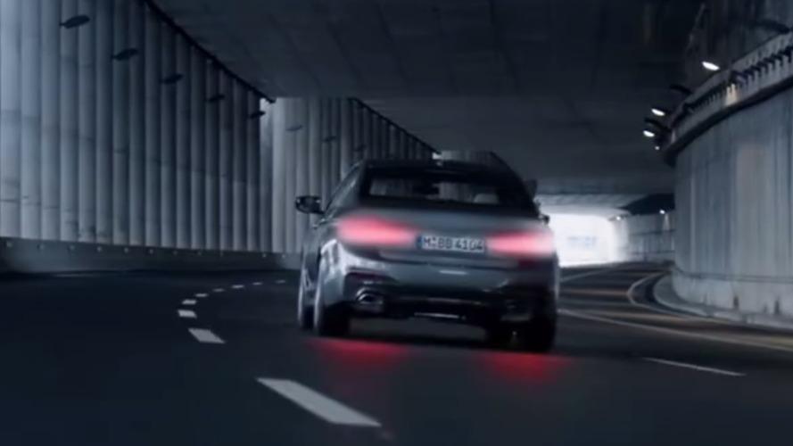 2017 BMW 5 Serisi, Perşembe lansmanı öncesi teaser'lara devam ediyor