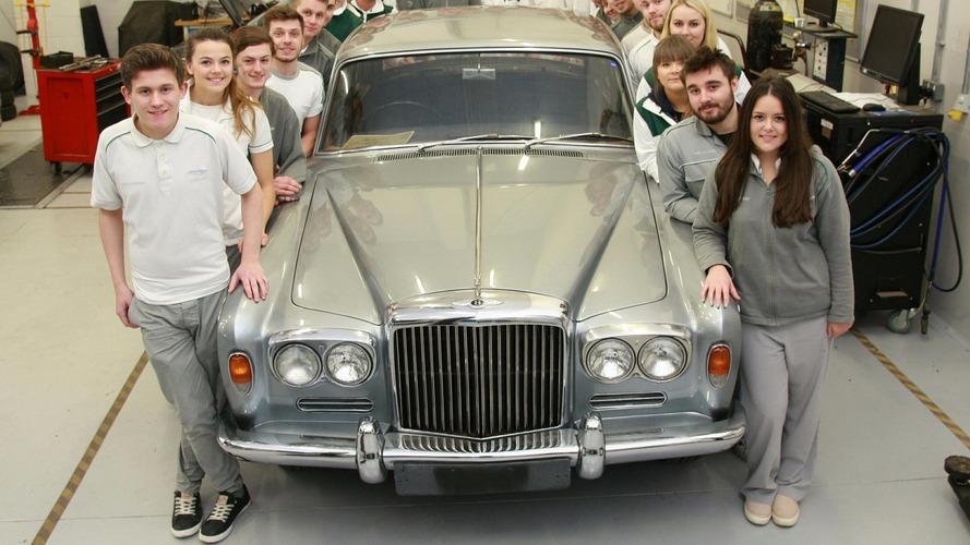 Bentley'in çırakları 1965 T Serisinin restorasyonunu yapıyorlar