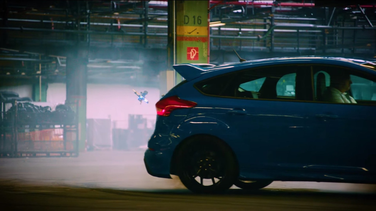 Ford Focus RS in Dronekhana