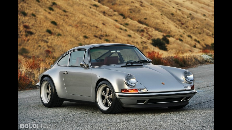 Singer Porsche 911 Silver