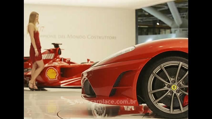Salão de Bolonha 2007 - Ferrari anuncia freios de cerâmica em todos os modelos