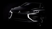 Mitsubishi Outlander PHEV Concept-S, i primi teaser