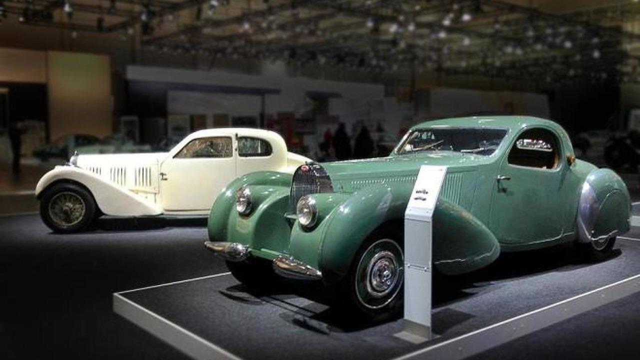 1937 Bugatti T57 Ventoux and 1939 Bugatti T57C Atalante