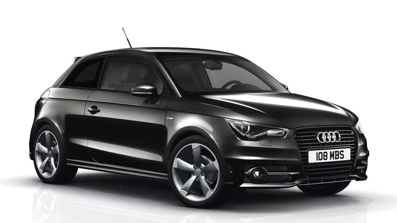 Audi A1 Black Edition (UK) 14.11.2011