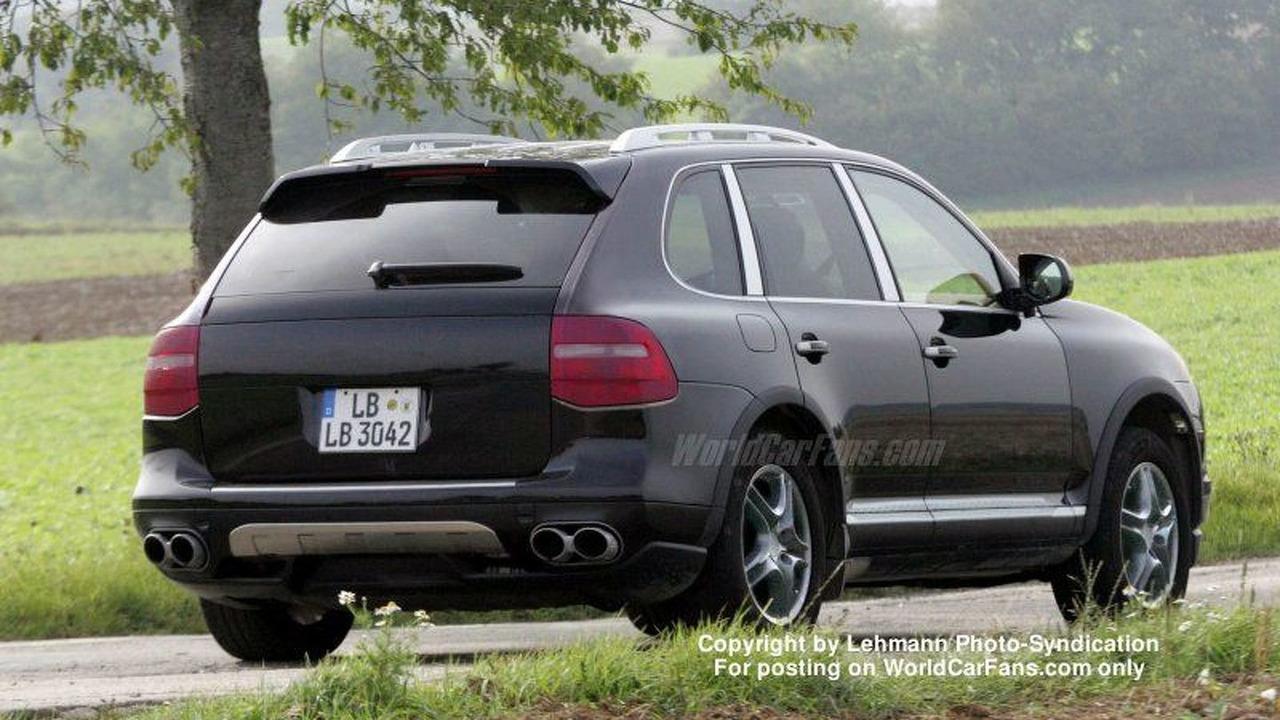 Porsche Cayenne Facelift Undisguised