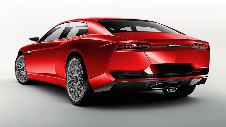 2019 Lamborghini Estoque Tasarım Çalışması